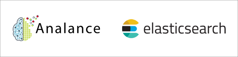 analance and elasticsearch logos