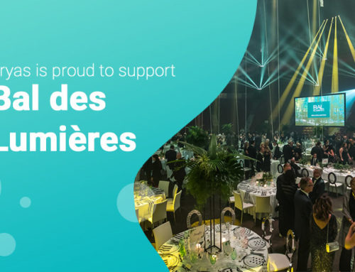 Ducen's sister company Sryas offers support for mental health at Bal des Lumières 2019