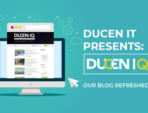 Ducen launches revamped blog: Ducen IQ