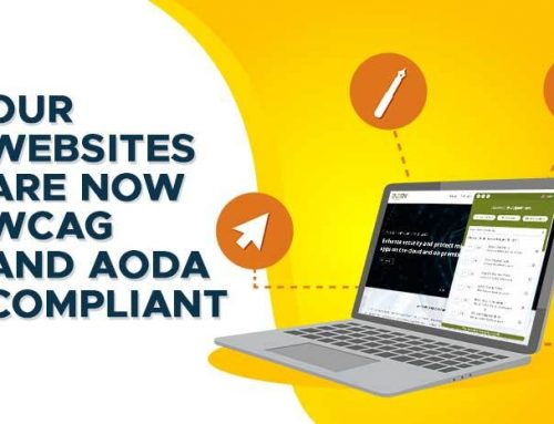 The Sryas and Ducen websites are now WCAG and AODA compliant